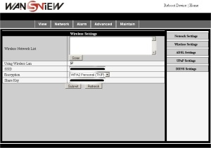 Setup of Wansview NC541W – tutorial – creating a connection and